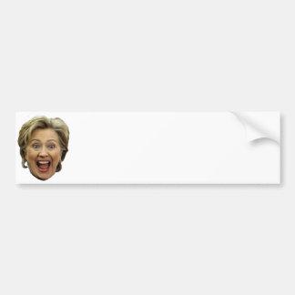 Tun Sie es sich Hillary Autoaufkleber