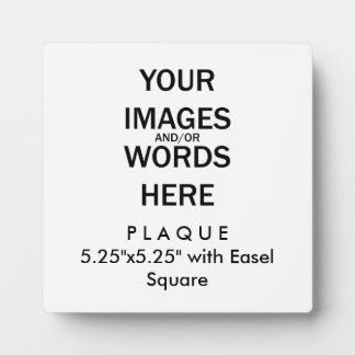 """Tun Sie es sich - Plakette 5,25"""" x5.25"""" mit Fotoplatte"""