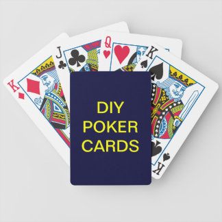 Tun Sie es sich Spielkarte-Poker-Standard Spielkarten