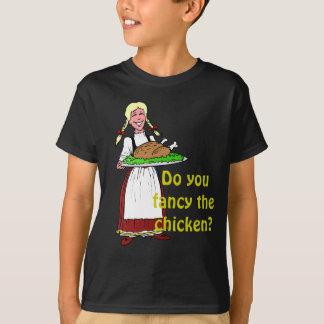 Tun Sie extravagant das Huhn? T-Shirt