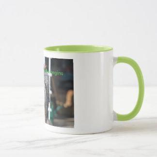 Tun Sie nicht Morgen-Tasse Tasse