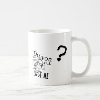 Tun Sie Sie Liebe ich Kaffeetasse