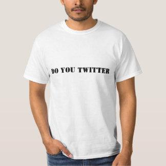 Tun Sie Sie Twitter Hemden