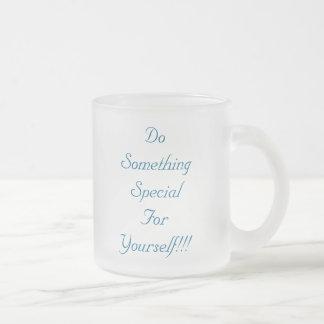 Tun Sie SomethingSpecial für selbst!!! , Tun Sie Matte Glastasse