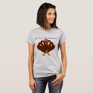 Tun Sie Theastmas? Der T - Shirt der Frauen
