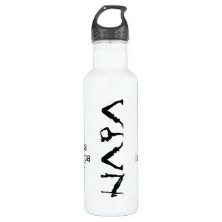 tun Sie Yoga in napa watter Flasche Trinkflasche