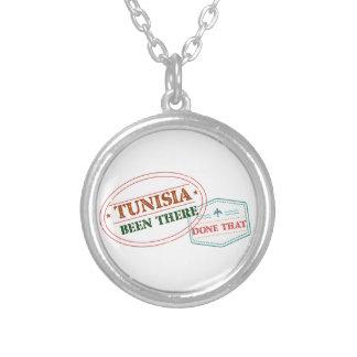 Tunesien dort getan dem versilberte kette