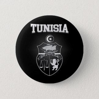 Tunesien-Emblem Runder Button 5,7 Cm