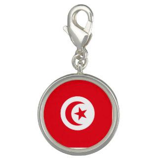 Tunesien-Flagge Charm