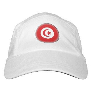 Tunesien-Flagge Headsweats Kappe