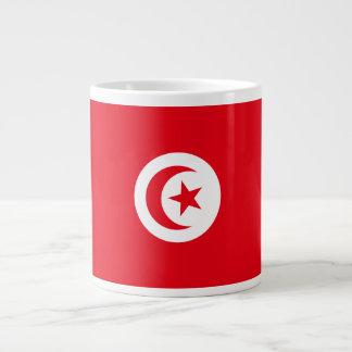 Tunesien-Flagge Jumbo-Tasse