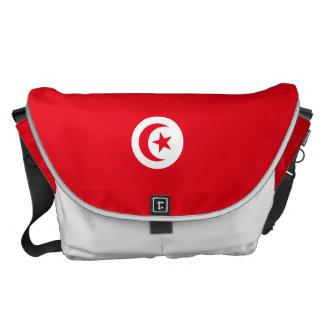 Tunesien-Flagge Kuriertasche