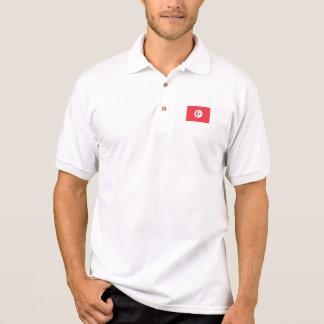 Tunesien-Flagge Polo Shirt