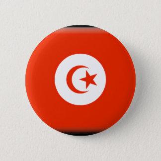 Tunesien-Flagge Runder Button 5,7 Cm
