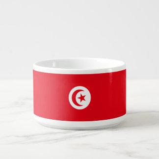 Tunesien-Flagge Schüssel