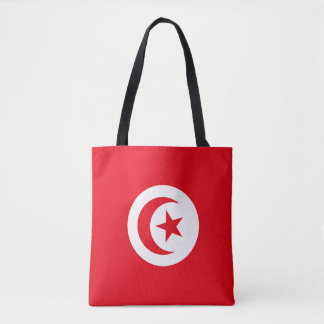 Tunesien-Flagge Tasche