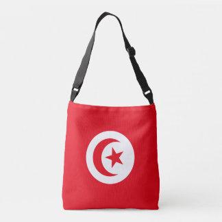 Tunesien-Flagge Tragetaschen Mit Langen Trägern