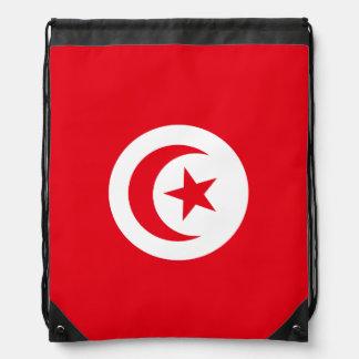 Tunesien-Flagge Turnbeutel
