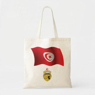 Tunesien-Flaggen-Taschen-Tasche Tragetasche