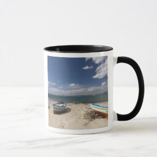 Tunesien, KappeBon, Hammamet, Fischerboote an Tasse