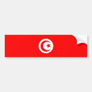 Tunesien-Landesflaggenamen-Textsymbol Autoaufkleber