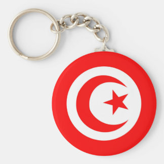 Tunesien-Landesflaggenamen-Textsymbol Schlüsselanhänger