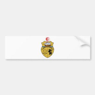 Tunesien-Wappen Autoaufkleber
