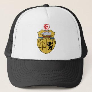 Tunesien-Wappen Truckerkappe