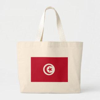 Tunesische Flagge Jumbo Stoffbeutel