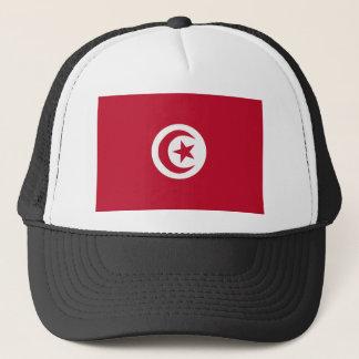 Tunesische Flagge Truckerkappe