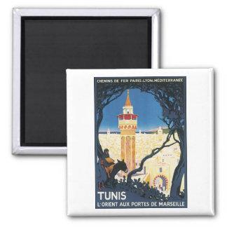 Tunis, L'Orient Aux Portes de Marsielle Magnets