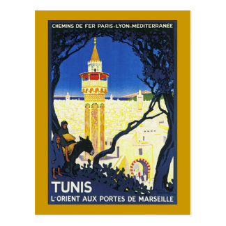 Tunis ~ L'Orient ZusatzPortes De Marseille Postkarte