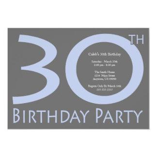 Tunnel-bohrwagen nummeriert das Geburtstags-Party 12,7 X 17,8 Cm Einladungskarte