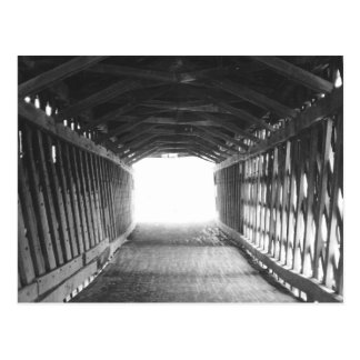 Tunnel des Lichtes Postkarte