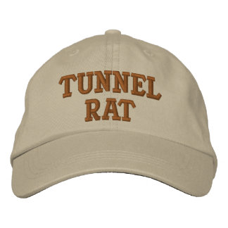 TUNNEL-RATTE VIETNAM BESTICKTE KAPPE