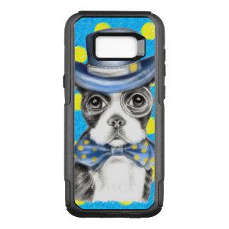 Tupfen Bostons Terrier OtterBox Commuter Samsung Galaxy S8+ Hülle