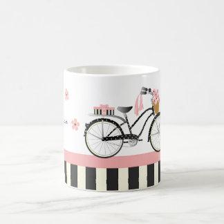 Tupfen-Fahrrad Kaffeetasse