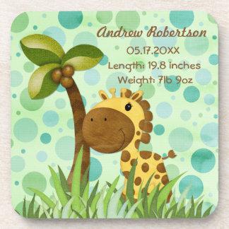 Tupfen-Giraffe Untersetzer