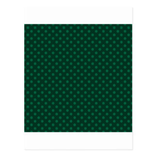 Tupfen - grünes 6b postkarte