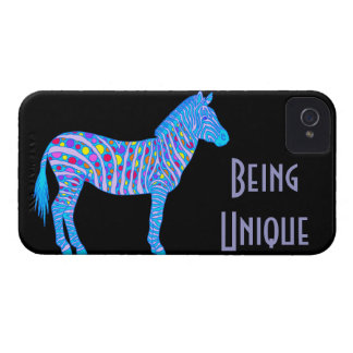Tupfen iPhone 4 Fall, der einzigartiger Zebra ist iPhone 4 Case-Mate Hülle