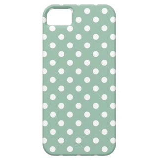 Tupfen iPhone 5/5S Fall im Grayed Jade-Grün Schutzhülle Fürs iPhone 5