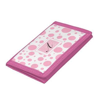Tupfen Prinzessin-Pink mit ihrer Initiale
