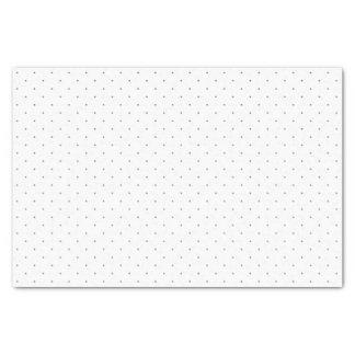 Tupfen-Seidenpapier im Grau Seidenpapier