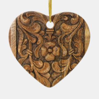 Tür patern keramik Herz-Ornament