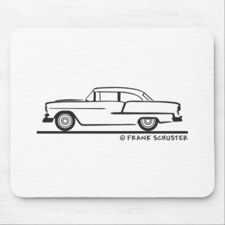 Tür-Posten 1955 Chevy Limousine-zwei Mousepads