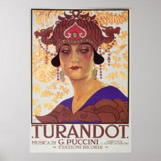 Turandot Oper Poster
