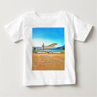 Turbo-Stütze-Flugzeug Baby T-shirt