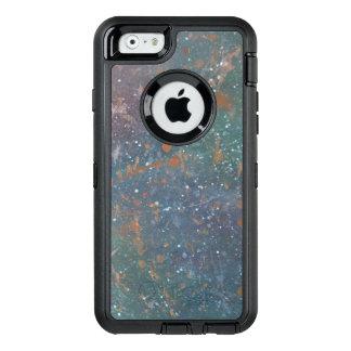 Turbulenter verblaßter getragener OtterBox iPhone 6/6s hülle