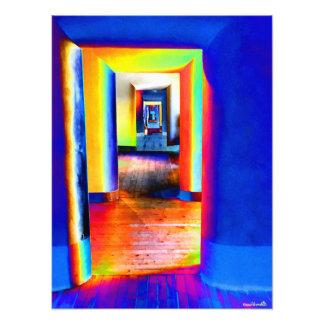 Türen des Lichtes Fotodruck