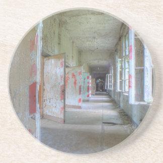 Türen und Korridore 02,1, verlorene Plätze, Getränkeuntersetzer